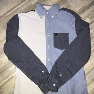 American Eagle Long sleeve button down shirt